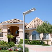 Buy cheap Waterproof All In One Solar Led Street Light PIR Motion Sensor Remote Control from wholesalers