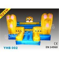 Custom 0.55mm PVC Inflatable Jumplers Bouncers Princess Castle YHB-002 with 950W Blower