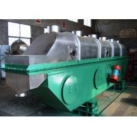 ZLG Series Vibrating Fluid Bed Dryer FBD Continuous Type For Granules Drying Manufactures