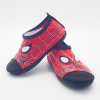 Convenient Kids Aqua Water Shoes Spider Man Cartoo Pattern Size 21 - 33 Manufactures