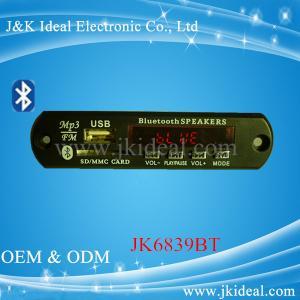 Cheap JK6839BT  Gor amplifier speaker Audio usb sd fm radio bluetooth mp3 module for sale