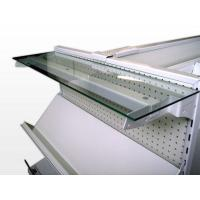 Transparent Tempered Glass Shelves High Strength For Store Security Manufactures
