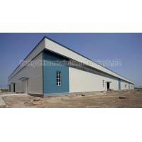 China Q235B Q345B Steel Building Workshop Construction Steel Structure Hangar on sale