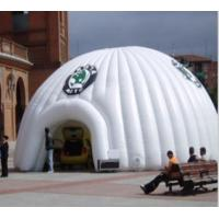 White Outdoor Advertising Inflatable Dome Tent for Event and Business Show