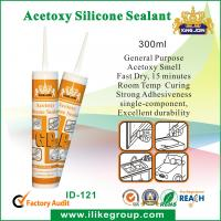 General Purpose AcetoxySilicone Sealant For Industrial With Acid Curing