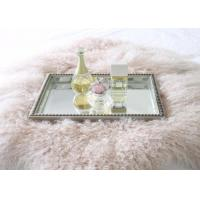Real Mongolian Tibet Lamb Fur  Pastel Pink Rug Plate Throw New Genuine Pink Wool Manufactures