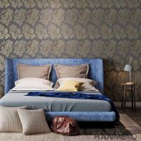 Buy cheap Strippable Modern Removable Wallpaper Wallpaper For Bedroom Walls ,  Beige Color from wholesalers