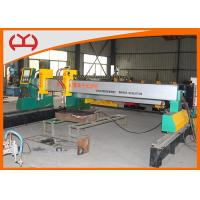 Heavy Duty Industry Gantry CNC Cutting Machine With Two Sets Lifting Body