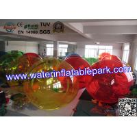 Party Rental Crazy Inflatable Water Ball , Inflatable Hamster Ball For Entertainment Manufactures