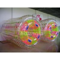 China 0.8mm/1.0mm Thick PVC Material Inflatable Water Roller For Commercial Use on sale