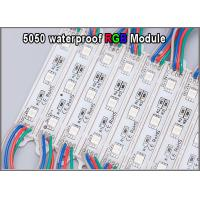 5050 RGB LED light 12V RGB colorchanging modules for outdoor advertisment signage Manufactures