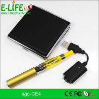eGo CE4 Single Starter Kits with metal box package potable electronic cigarette Manufactures
