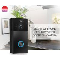 Smart Home Wifi Door Bell Smartphone View Wireless Battery Wifi Visual Intercom Doorbell Camera Manufactures