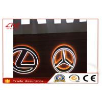 China Acrylic Aluminum Stainless Steel Lighted Frontlit 3D Car sign Logos Customized on sale