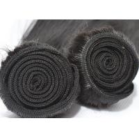 No Bad Smell Peruvian Straight Hair Weave 100% Unprocessed Black With A Little Brown Manufactures
