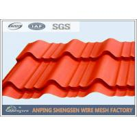 Lightweight Powder Coated Corrugated Steel Sheets For Roof Corrosion Resistant Manufactures