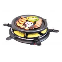 Round Black non-stick Electric BBQ Grill XJ-3K042 Manufactures