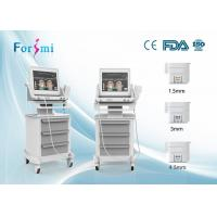 1.5mm 3mm 4.5mm of High Intensity Focused on Ultrasound wrinkle removal machine Manufactures