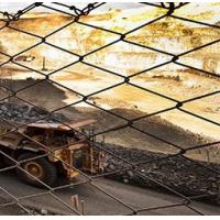 carbon steel Chain link wire mesh Gabion Protective Mesh slope stabilization Manufactures