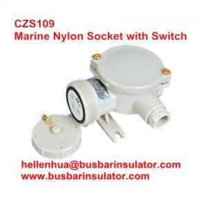 10A electrical Waterproof socket CZS201 marine nylon industrial socket 1141/D/FS