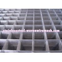 Custom Stainless Steel Welded Wire Mesh Sheet / Roll Wear And Abrasion Resistance Manufactures