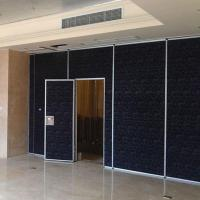 Commercial Operable Sound Proofing Wooden Partition Wall With Aluminum Frame Manufactures