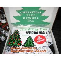 Promotion large removal waterproof Christmas artificial decorated tree bag,10 Ft Christmas Tree Removal Gift Bags packag Manufactures