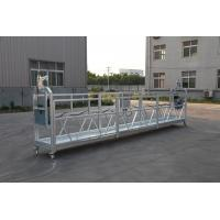 100m ~ 250m Working Height  220V / 60HZ / 3 Phase ZLP630 Aluminum Suspended Platform For High Building Painting Manufactures
