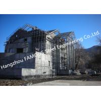 Light Weight Steel Structure Villa House Pre-Engineered Building Construction With Cladding Systems Manufactures