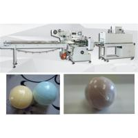 Cheap Automatic bath bomb shrink wrapping machine bath ball heat shrink packing machine with 60 pcs/min for sale