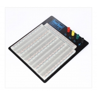Buy cheap Clear Plastic Transparent Breadboard Solderless from wholesalers