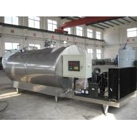 3 TPH Fresh Raw Milk Cooling Tank Dairy Processing Equipment SUS304 Manufactures