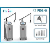 1-100ms fractional CO2 machine with two working modes: factional and cutting Manufactures