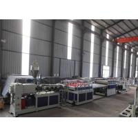 China WPC Plastic Board Production Line , High Efficiency WPC Plastic Board Extruder on sale