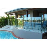 Frameless No Holes Pool Fencing Glass Panel Heat Soaked Toughened Manufactures