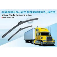 Natural Rubber GM Truck Parts Windscreen Wipers Bosch Type Long Size Manufactures