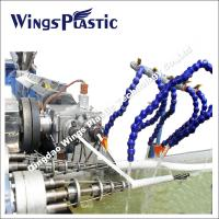 PVC Spiral Reinforced Suction Hose Extrusion Line / Manufacturing Machine Manufactures
