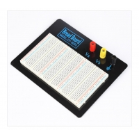 Black Plate ABS Plastic Prototyping Breadboard With Color Printed Manufactures