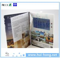 "Cheap Custom Business 2.4"" 4.3"" 5"" 7"" 10'' LCD Video Brochure for sale"