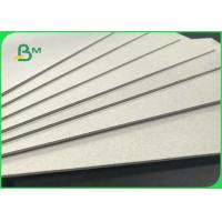 70 * 100cm 0.6mm 0.8mm Rigid Uncoated Grey Board For Notebook Covers Manufactures