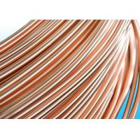 Easy To Bend Refrigeration Copper Tube 4.76 * 0.5mm , 25% Elongation Manufactures