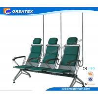 High Grade Hodpital Transfusion Chair Steel with Light Silver Coating Manufactures