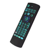 Rechargeable Air Keyboard And Mouse Backlight With Ir Learning RF Remote Manufactures