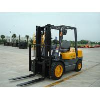 China Warehouse Diesel Operated Forklift High Efficiency 3.5 Ton Load Capacity on sale