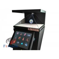 3D Virtual Projection 3d Hologram Pyramid , Full HD Holographic Video Display Manufactures