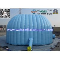 Blue Oxford Fabric Inflatable Tent / Inflatable Exhibition Tent for Promotion Manufactures