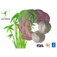 Waterproof Organic Bamboo Nursing Pads High Absorb Microfiber Founded Manufactures