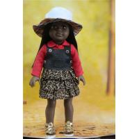black doll wholesale/american girl doll clothes wholesale/vinyl doll oem Manufactures