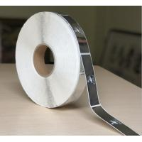 Self Adhesive Clear Bopp Roll Label , Custom Printed Chrome Sticker Label Manufactures