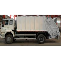 Professional 4×2 Garbage Collection Truck 10-12 CBM Rubbish Bin Truck Manufactures